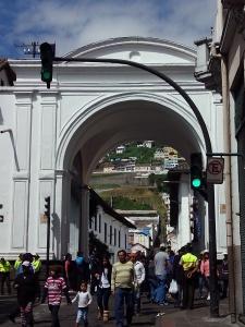 Cento histórico ciudad de Quito