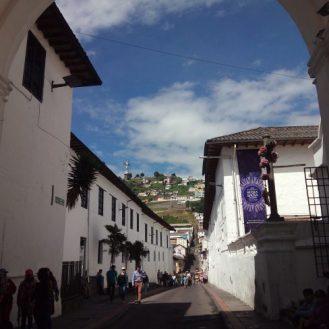 Centro histórico de quito Ecuador