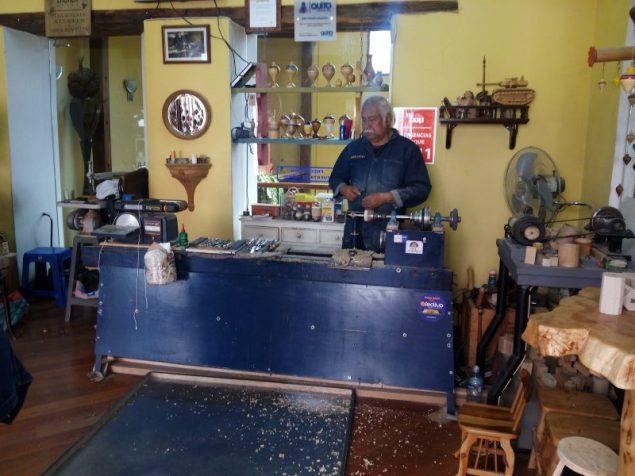 Artesano de La Ronda en Quito
